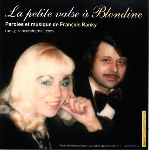 Ranky,CD,petite valse,Blondine,poème